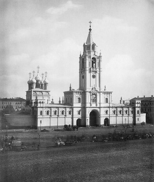 Москва страстной монастырь собор
