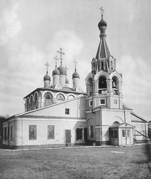 Московская церковь усекновения главы