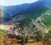 Вид села Даба близ Боржома.