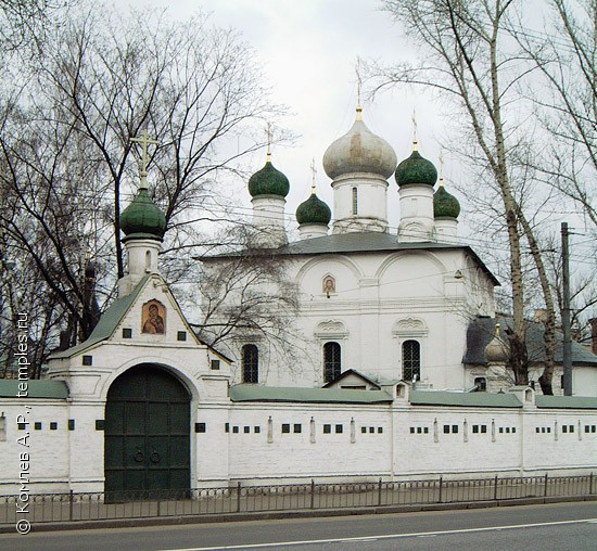 Москва сретенский монастырь ограда