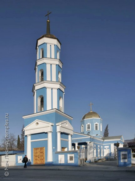 Крым. Судак. Церковь Покрова Пресвятой Богородицы. Фотография.