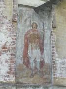 Роспись на алтарной апсиде Георгиевской церкви в Обнорском Любимского района Ярославской области.