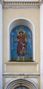 Образ святого Георгия Победоносца на фасаде церкви Николая Чудотворца в Наро-Фоминске Московской области.