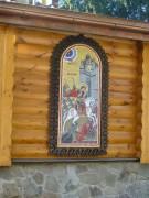 Восточная грань апсиды церкви Великомученика Георгия при Центральном региональном центре МЧС в Москве.