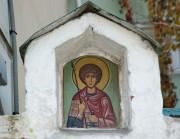 Георгий Победоносец, икона в ограде Сретенского монастыря в Москве.