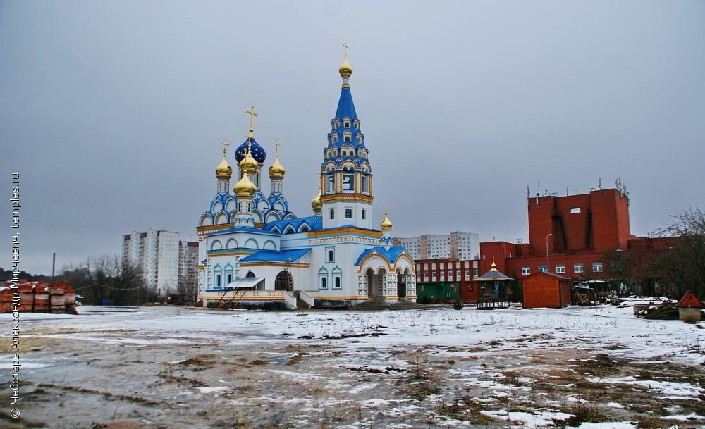 Неувядаемый цвет храм в рублево