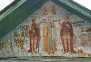 Роспись северного фронтона