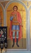 Георгий Победоносец, роспись внутреннего столба в Успенском соборе в Коломне Московской области.