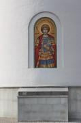 Георгий Победносец, <em>георгий</em> храмовая икона нижнего храма Иверской церкви в Очаково-Матвеевском, в Москве.