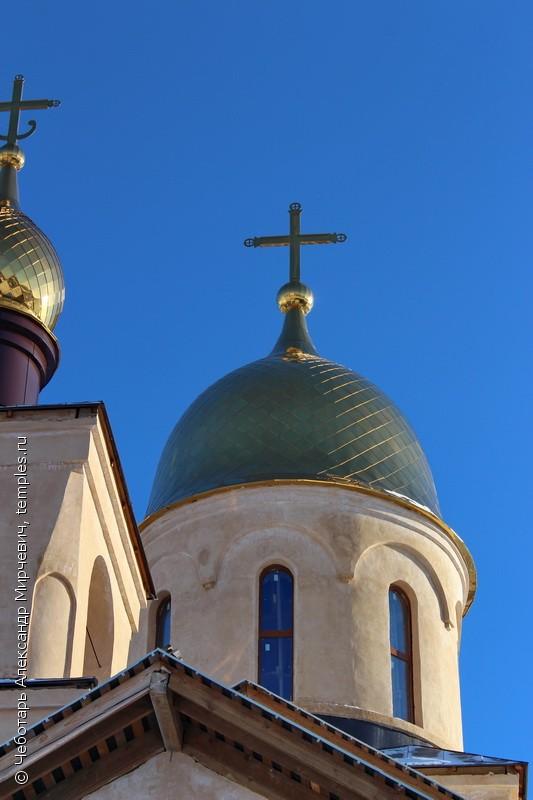 Церковь георгия победоносца в нахабино