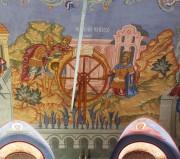 Мучение св. Георгия на колесе, роспись трапезной церкви Великомученика Георгия, что в Яндове (Москва).