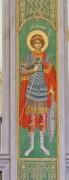 Георгий Великомученик, роспись столпа в интерьере Воскресенского собора в Сретенском монастыре в Москве.