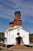Храм Преображения Господня в Горно-Алтайске.