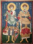 Образ святых Георгия и Дмитрия в Петровской церкви при Традиционной гимназии, в Москве.