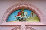Церковь Святого Георгия Победоносца в селе Лесное Адлерского района города Сочи. Образ святого Георгия.