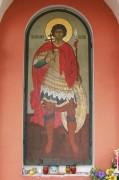 Икона Святого Великомученника Георгия Победоносца в часовне в Красных Орлах Чеховского района Московской области.