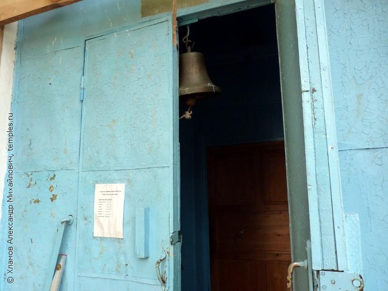 Подтесово.  Церковь Николая Чудотворца.  Звонница.  Фотография.