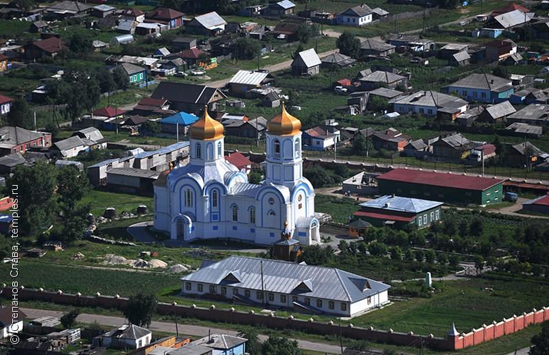 Новосибирская область Колыванский район Колывань Покровский Александро-Невский Колыванский монастырь Церковь Александра Невского