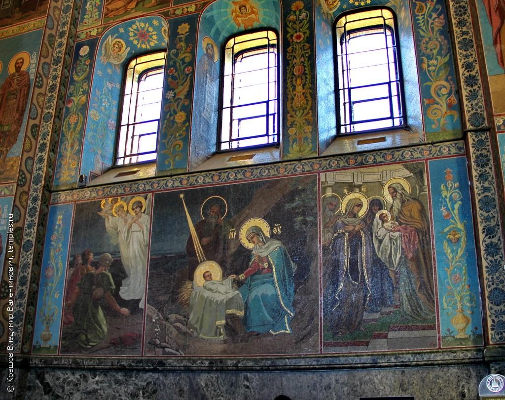 Sankt Peterburg Sobor Voskreseniya Hristova Spas Na Krovi Mozaika