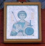 Храмовая икона над входом в церковь Георгия Победоносца (Верхне-Георгиевская) в Смоленске.