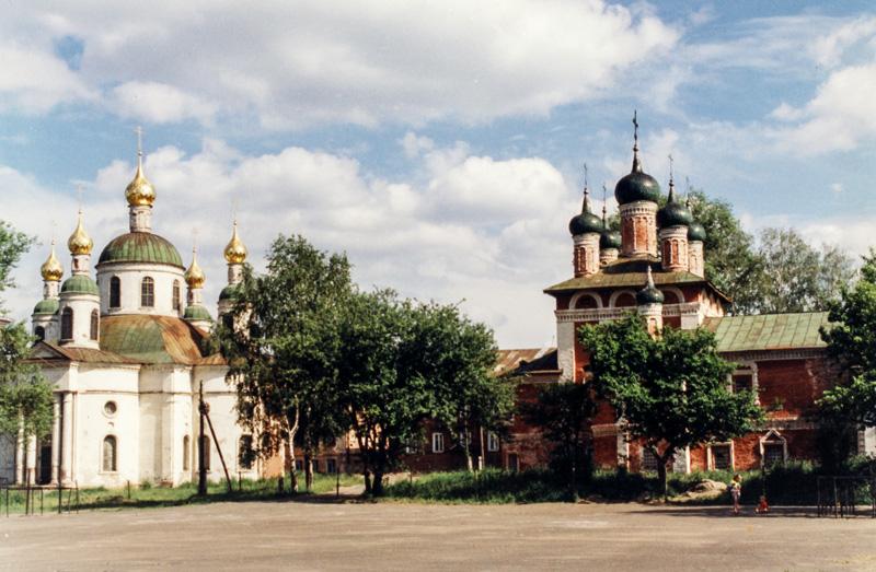 Богоявленский монастырь в г. Углич
