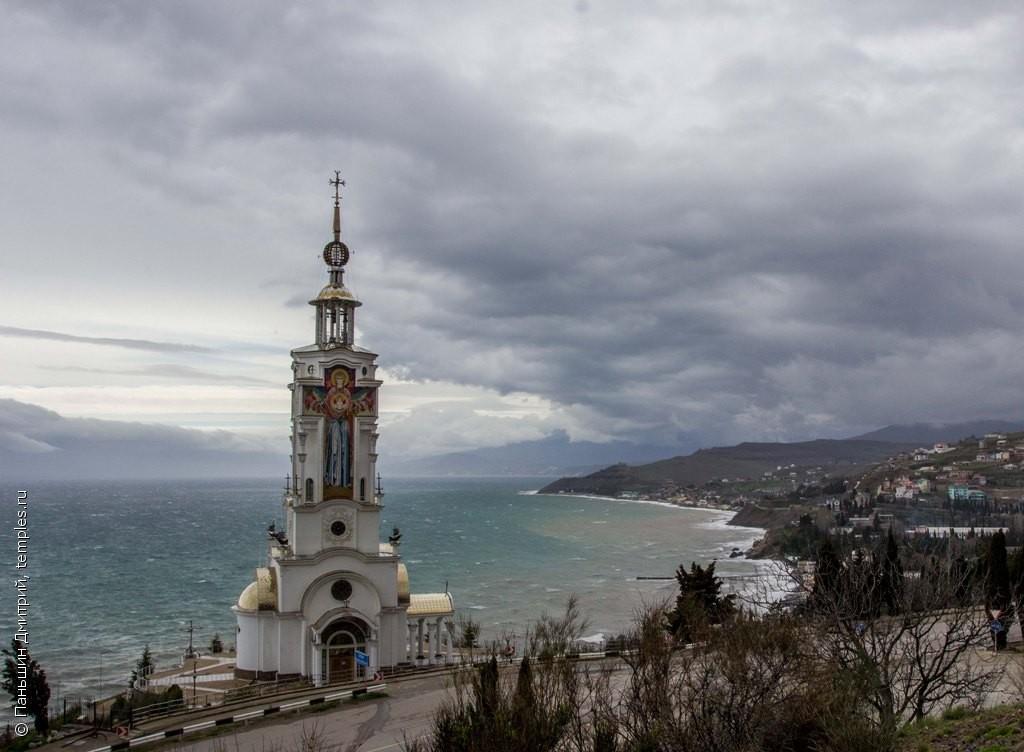 фото крым село малореченское