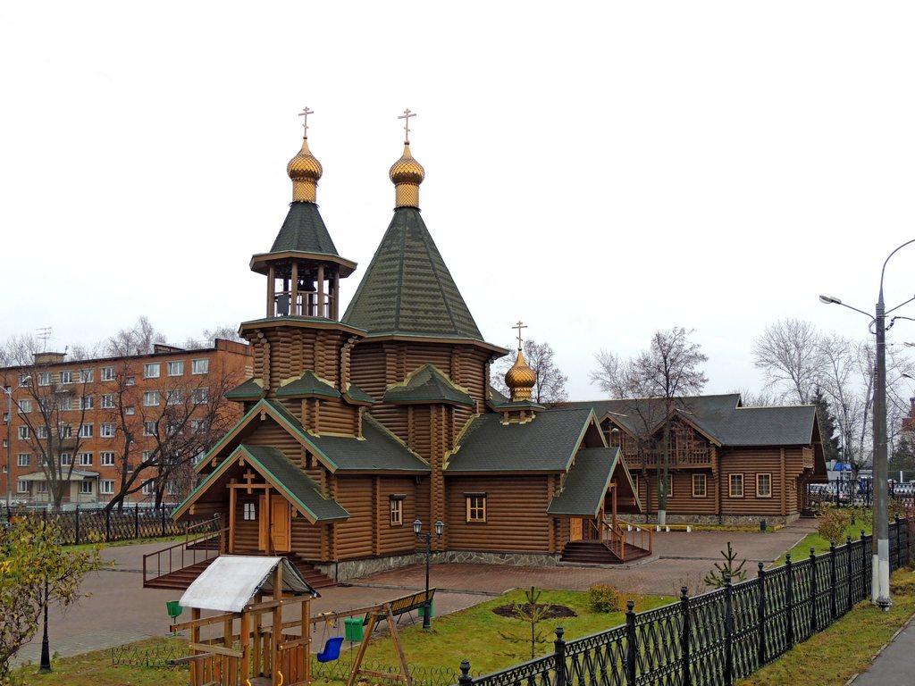 Церковь георгия победоносца в подольске воскресная школа
